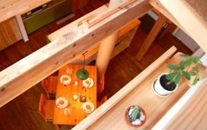 大阪市の「カフェみたいな木の家」 木造3階建て長期優良住宅