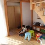 大阪枚方U様邸 『成長する木の家』 子ども