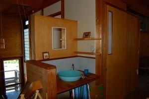 大阪狭山市N様邸 光と風の家 洗面台