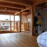 大阪枚方U様邸 『成長する木の家』 2階