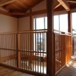 大阪枚方U様邸 『成長する木の家』 ベランダ