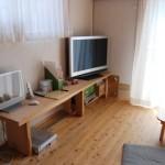 大阪枚方U様邸 『成長する木の家』 テレビ台