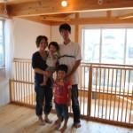 大阪枚方U様邸 『成長する木の家』 家族