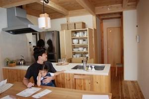 八尾市K様邸 『こだわりの陽の木の家』
