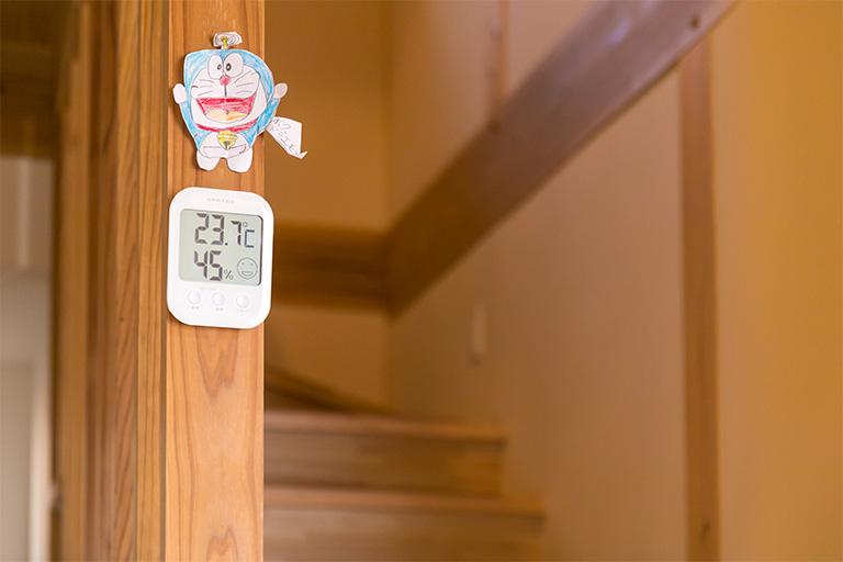 手作りの温度計