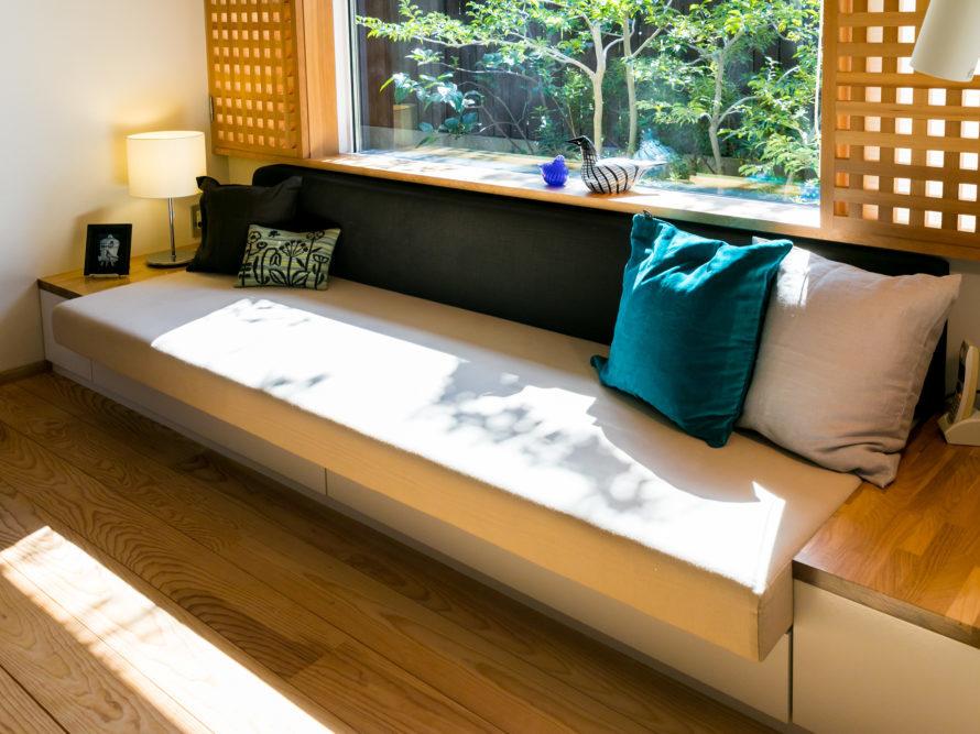伊礼智の家具が見られるソーラーコムの住宅