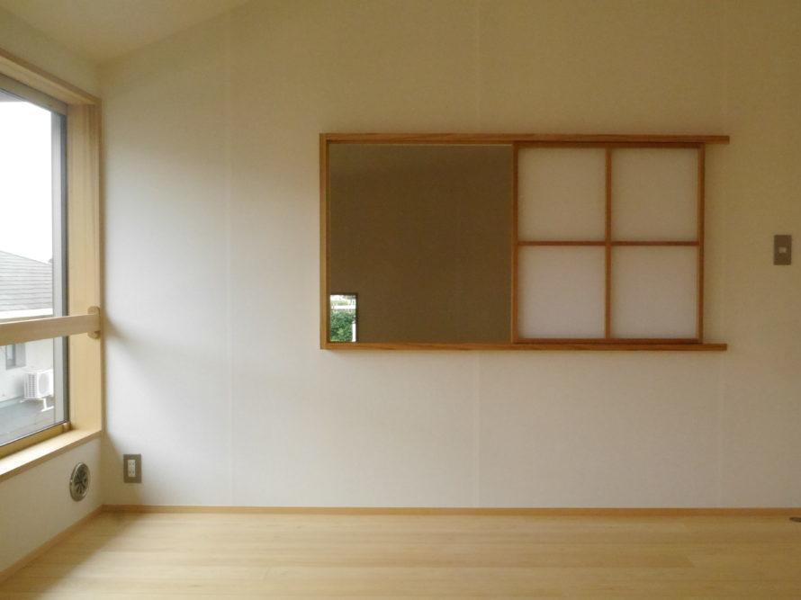 洋室へのアレンジ。寝室としても使いやすい