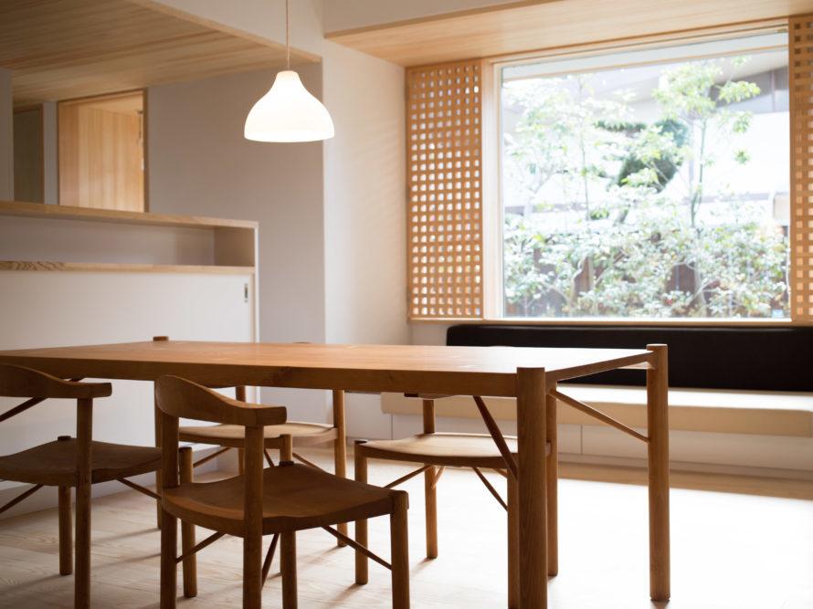 i-works豊中モデルのはんぺんチェアの奥村家具